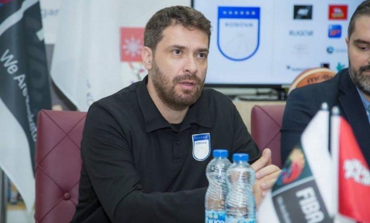 Intervista me trajnerin e ri të Kosovës në basketboll
