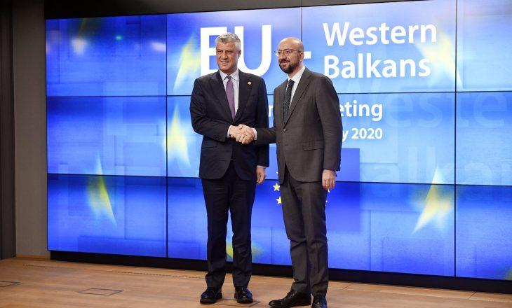Thaçi: BE të heqë vizat