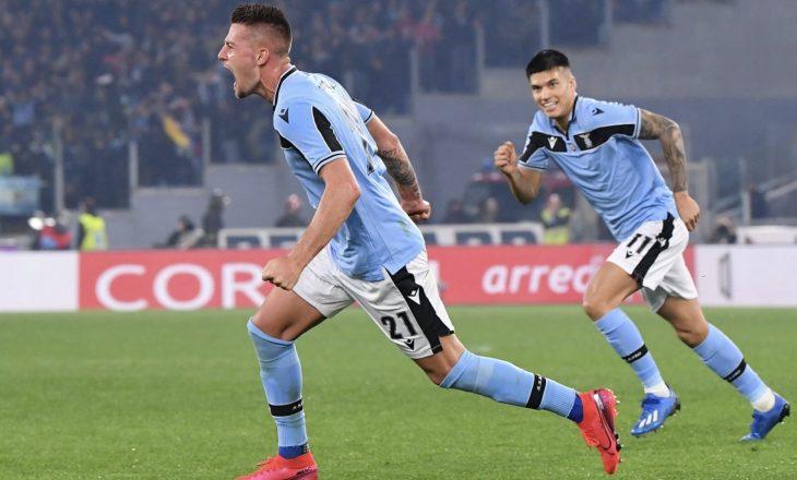 Lazio e përmbys Interin dhe ngjitet në pozitën e dytë [Video]