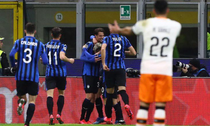 Atalanta fitore bindëse ndaj Valencias