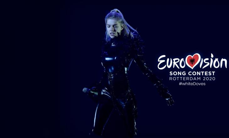 """Arilena Ara do ta këndojë në anglisht këngën e saj në """"Eurovision 2020"""""""