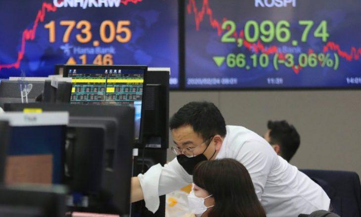 Ekonomia botërore pritet të preket nga pasojat e Coronavirusit