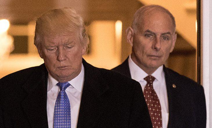 Trump sulmon ish shefin e stafit, John Kelly
