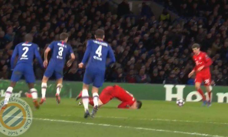 Momenti kur ylli i Chelseat e goditi me grusht Lewandowskin – ky ishte vendimi i gjyqtarit