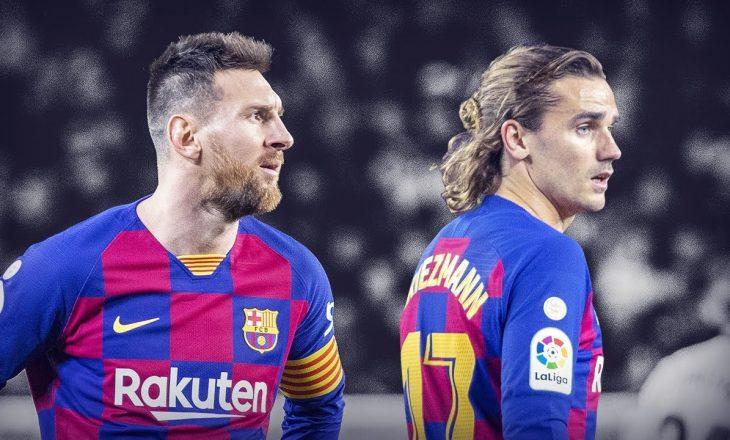 """Tension te Barcelona, Messi e Griezmann në """"luftë të ftohtë"""""""