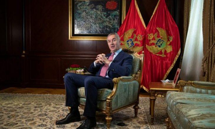 Gjukanoviq akuzon Serbinë dhe Rusinë se po provojnë ta shkatërrojnë Malin e Zi