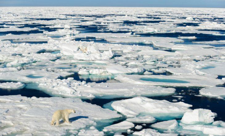 Diçka e çuditshme po ndodh në Polin e Veriut
