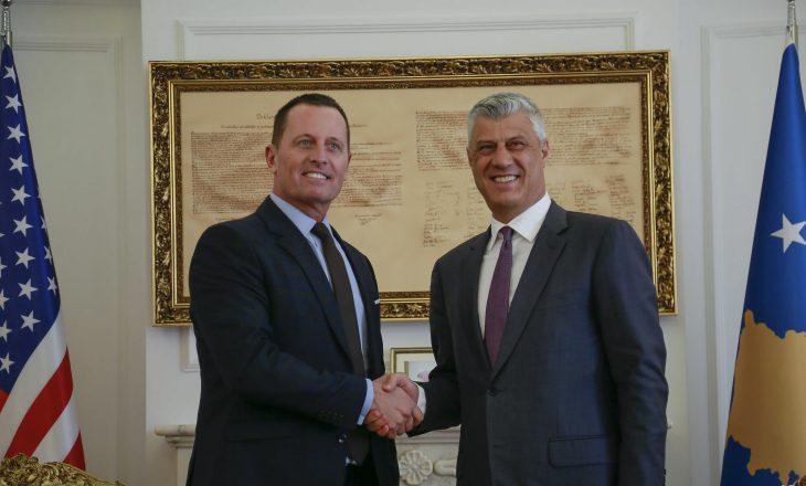 Thaçi: Ftesa e Grenellit rritë optimizmin se dialogu do të ketë sukses