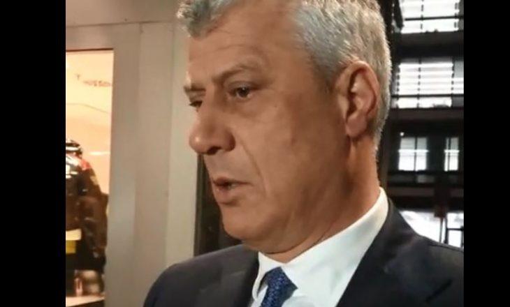 Diskutimi me Kurtin, Ramën e Vuçiqin – presidenti Thaçi reagon pas takimit