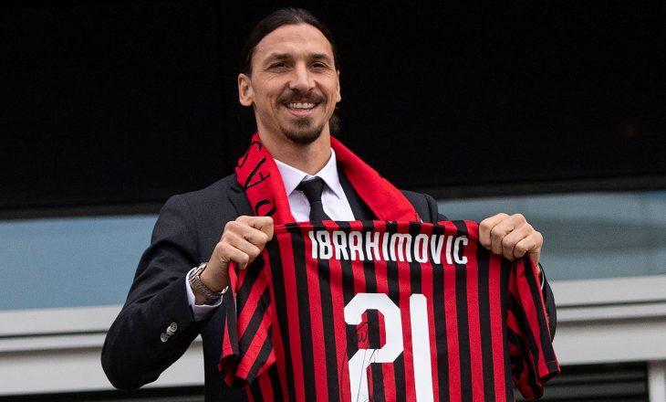 Ibrahimoviç: Vetëm sa kam filluar, do të qëndroj Akoma te Milani