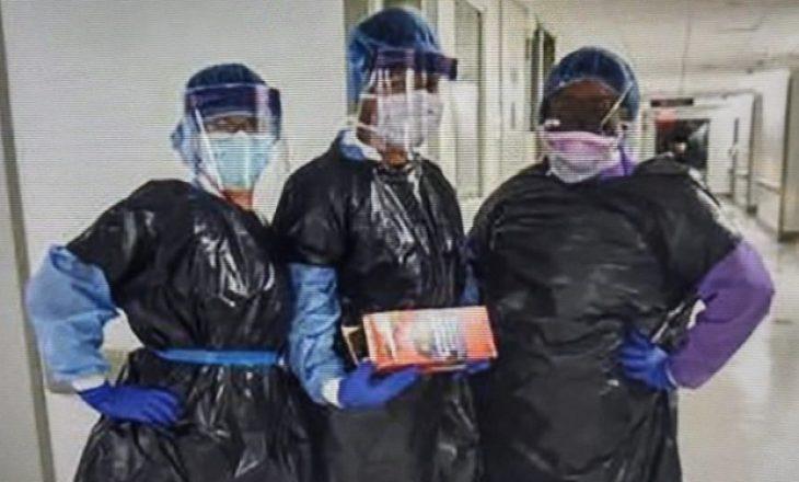 Infermieret në qese për mbeturina: Situatë katastrofike në spitalin e Nju Jorkut