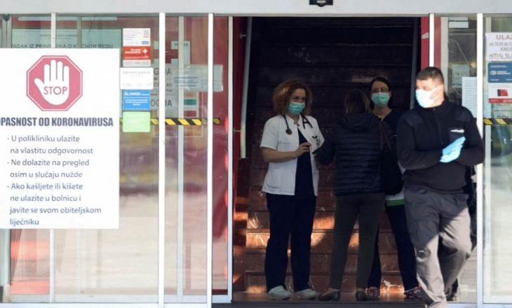 Kroacia konfirmoi rastin e parë të vdekjes nga koronavirusi, gjithsej 442 të infektuar