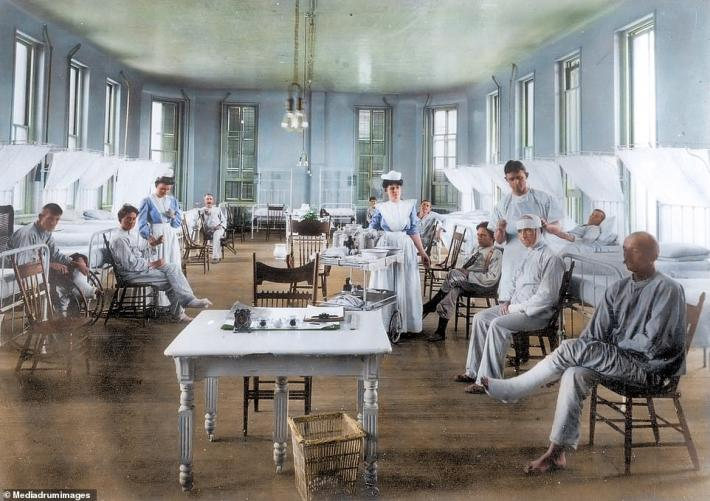 Pamje të rralla: Mori 50 milionë jetë, si u luftua Gripi Spanjoll 100 vite më parë
