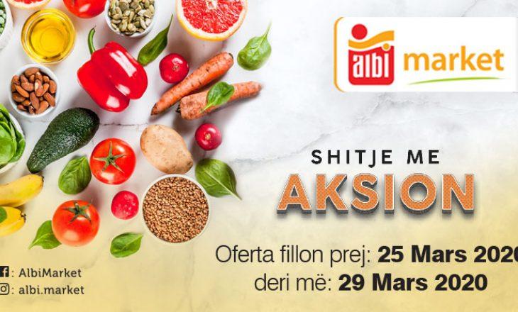Albi Market për çdo familje, në këto ditë të vështira, sjellë aksion në shitje!