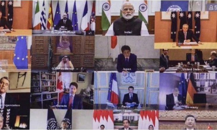 Mblidhet online samiti G20: Ndajnë 5 trilion dollarë për të përballuar krizën ekonomike nga Covid19