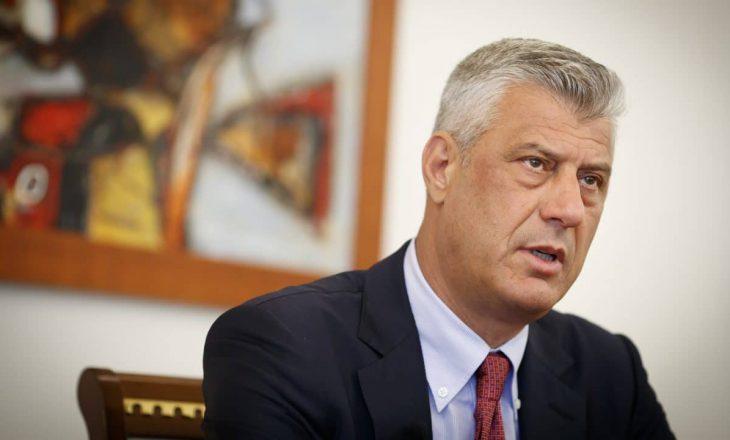 Thaçi: Kosova e mban premtimin, ambasadën e hapim në Jerusalem