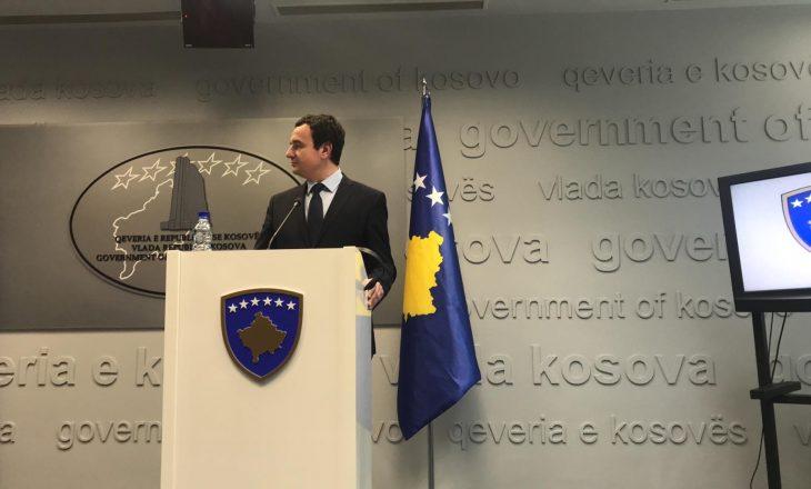 Albin Kurti mban të fshehur planin për bashkimin e ministrive
