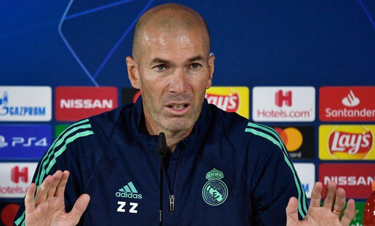 Zidane: Real Madridi ka të drejtë të luajë në Ligën e Kampionëve