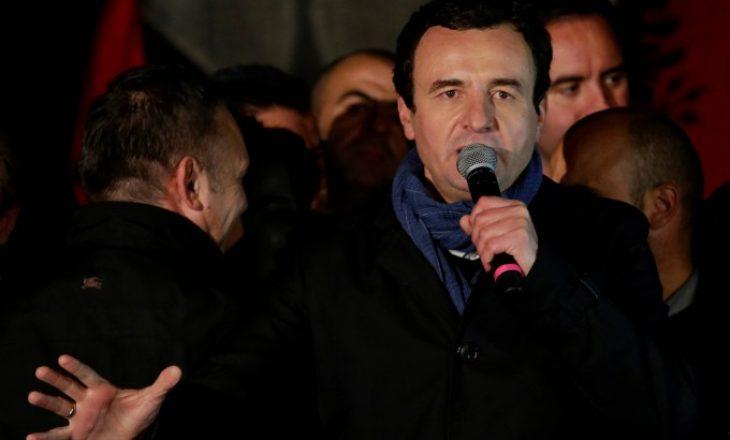 Kurti: Po mos të ishte koronavirusi, më 25 mars në Prishtinë do të ndodhte protesta më e madhe ndonjëherë në Kosovë