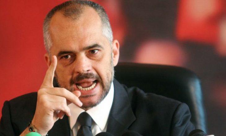 Rama: Konspiracioni për ndarjen e Kosovës – tallja më e madhe që po i bëhet popullit