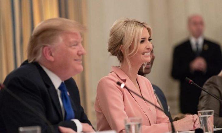 """E bija e Trump e quan babanë """"President të Paqes"""" – përmend marrëveshjen Kosovë-Serbi"""