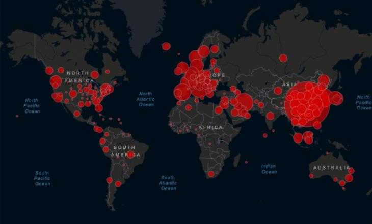 Mbi 31,776 të vdekur nga koronavirusi në gjithë botën