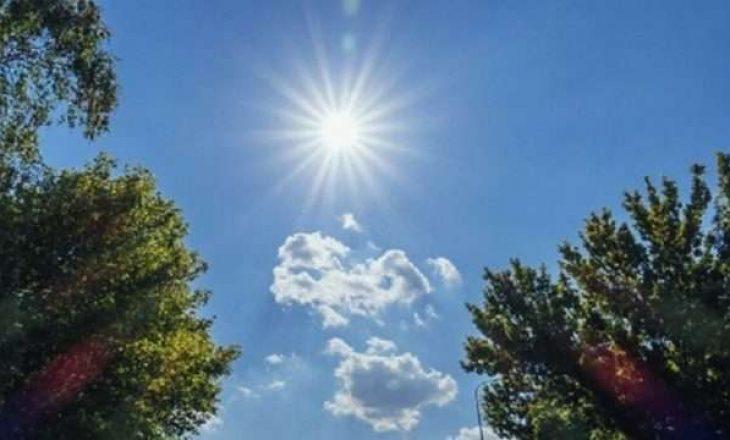 Temperatura të larta në dy ditë të ardhshme