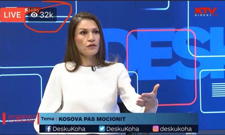 Gazetarja Brikenda Rexhepi thyen rekordin e shikueshmërisë online