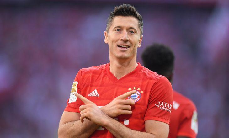 Robert Lewandowski i prin listës së golashënuesve për vitin 2020