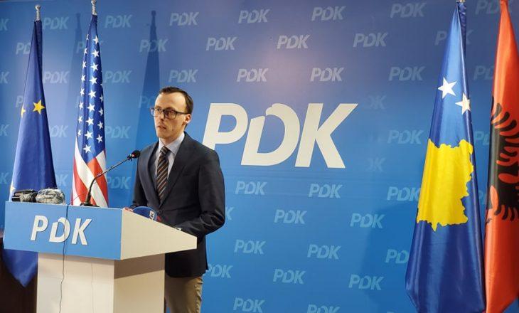 Bytyçi tregon arsyet pse PDK nuk mori pjesë në takimin e ftuar nga Hoti