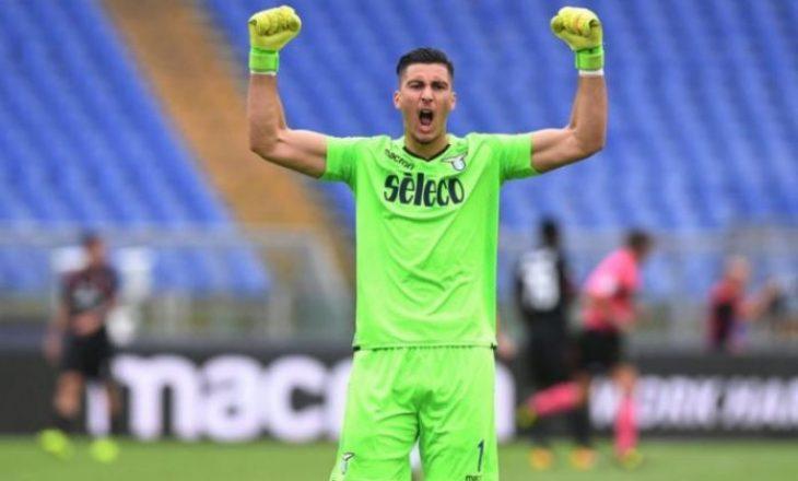 Në fundjavë, Strakosha rikthehet në stërvitje me Lazio-n