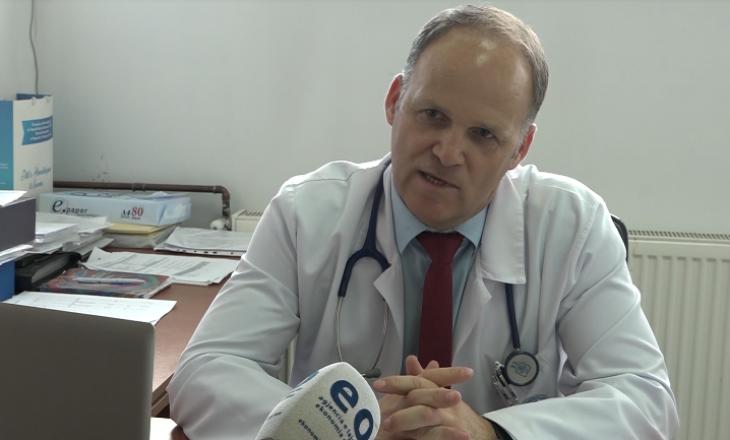 Krasniqi thotë se javën e fundit ka shtim të pacientëve me COVID-19 në QKUK