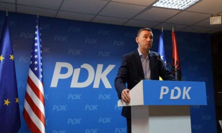 Veseli thotë se pa PDK-në nuk mund të kryhet asnjë punë e mirë për Kosovën