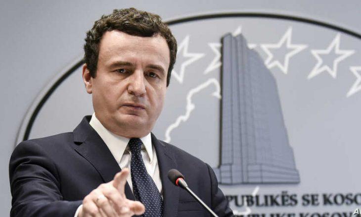 Kurti: Agim Veliu ishte pjesë e planit Thaçi – Vuçiq për ndarjen e Kosovës