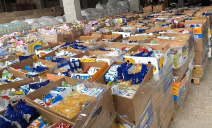 Komuna e Prishtinës dhe TIKA Turke shpërndajnë pako ushqimore