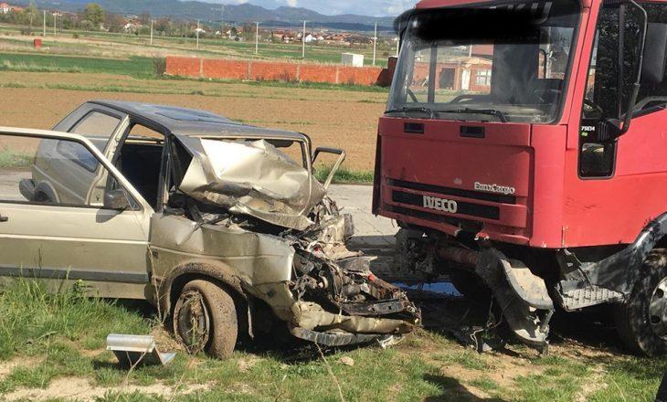 Aksident në fshatin Bradash të Podujevës, gjashtë persona të lënduar