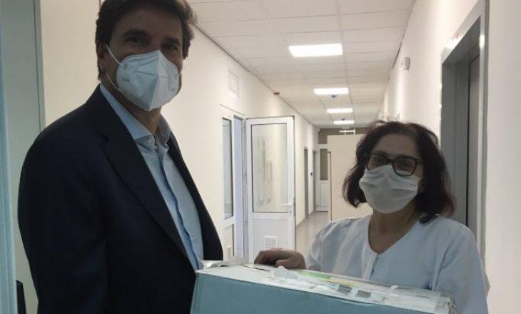 BE ndihmon Kosovën me materiale mjekësore për Covid-19