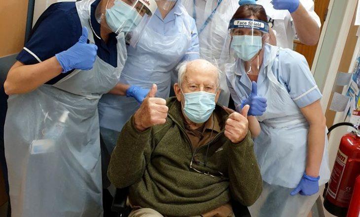Një 101-vjeçar shërohet plotësisht nga koronavirusi
