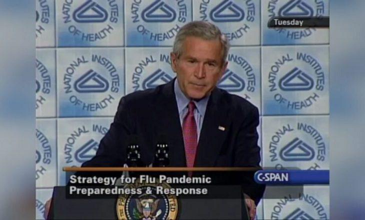 Koha kur George Bush kishte paralajmëruar për rrezikun e një pandemie