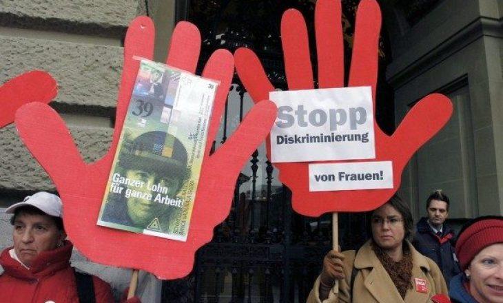 Zvicër: Pagat e grave do të barazohen me ato të burrave pas 46 vitesh