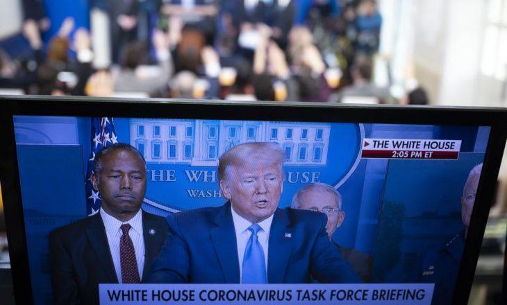 Presidenti Trump u dorëzon guvernatorëve planin për rihapjen e ekonomisë