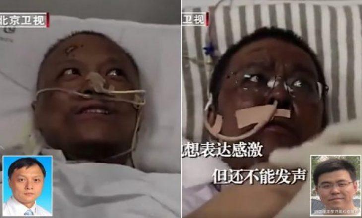 Mjekët e shëruar nga koronavirusi në Wuhan tregojnë ndryshimet në trupin e tyre