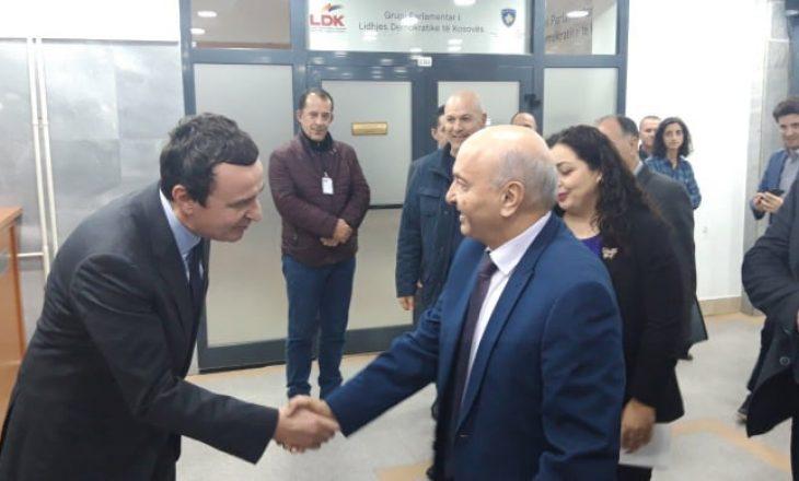 Mustafa ironizon me Kurtin: Edhe president me deshtë me u bo se kisha prish koalicionin