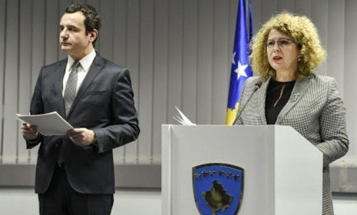 Albin Kurti dhe Rozeta Hajdari do të mbajnë konferencë në orën 17:00
