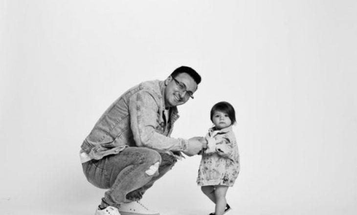 Pas shumë kohësh, Eno Popi ndan foton më të ëmbël të vajzës dhe zbulon sa është rritur ajo