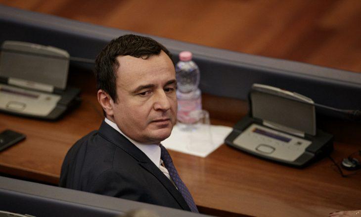 Albin Kurti deklaron pasurinë, politikani më i varfër kosovar