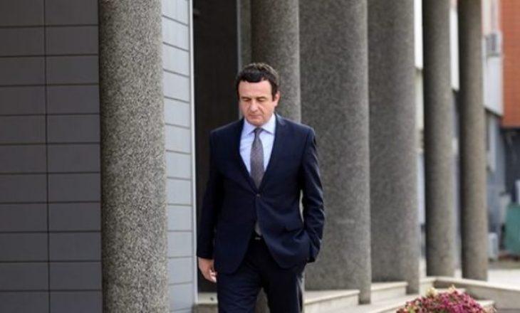 Pas formimit të qeverisë së re, Kurti tregon a do t'ia lëshojë zyrën kryeministrit të ri