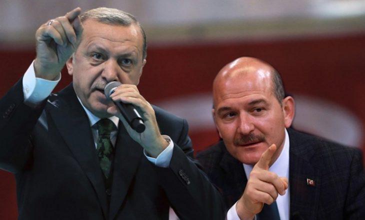 Erdogan refuzon dorëheqjen e ministrit të Brendshëm