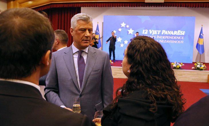 Osmani akuzoi Thaçin për marrëveshjen me Serbinë në vitin 2013, të cilën e votoi edhe partia e saj