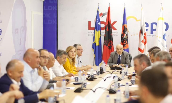 LDK do të mblidhet për të ndarë ministritë